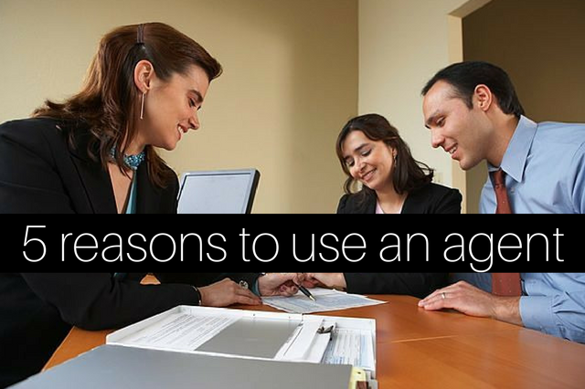 5 reasons to use an agent